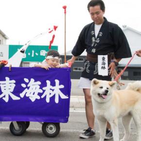 湯沢の大名行列2014